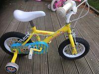 Girls apollo sugar and spice bike