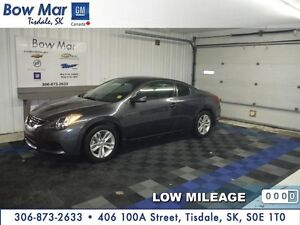 2012 Nissan Altima 2.5 S 2 DOOR-*ONLY 21,892 KMS*HEATED LEATHER*