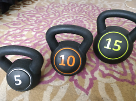 Weight dumbbells as new.