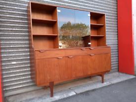 Mid-Century Teak S-Form Dresser