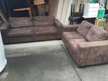 SUPER COmfortable suede material 3+2 seater sofa , can delivery a Mont Albert Whitehorse Area Preview