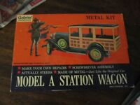 Metal Model Station Wagon