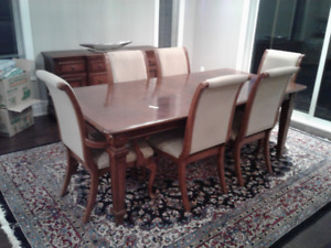 Designer  brand dining table,Buffet and hutch