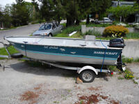 15' Harbercraft Aluminum 25 HP with extras OBO