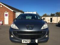 2009 Peugeot 207 1.6 HDi S 3dr (a/c)