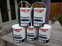 Leyland Masonry Paint - Truguard Pearl [light grey] - 5 cans x 5L