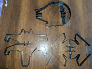Star Wars cookie cutters and pancake molds