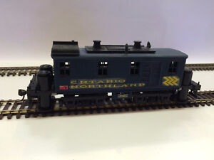 Ontario Northland HO scale track cleaner