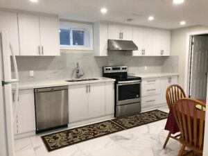 Rooms of basement apartment near Dufferin and Steeles for rent