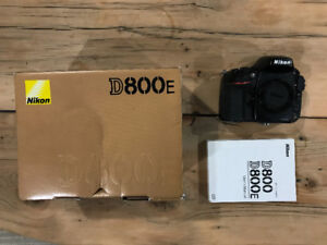 Nikon D800E 36.3 MP Digital SLR Camera FX-Format  (Body Only)