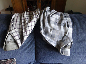 MEN'S PLAID SHIRTS, JACKET & PANTS