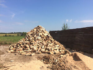 Firewood Menonite cut hardwood