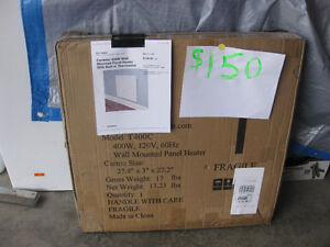 brand new 400W Wall-Mounted Panel Heater W Built in Thermostat