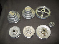 Various Motor Pulley's