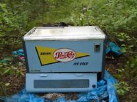 1950's Commercial Pepsi Cooler