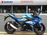Suzuki GSXR250 MotoGP ex demo now available on 3% apr finance so be quick