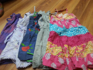 Girl summer clothes - size 4