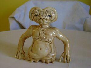 Ceramic E.T. figurine