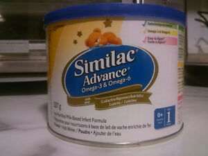 Unopened Powdered and Ready to Drink baby formulas