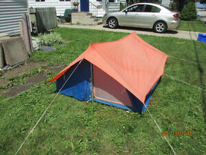 1-2 person backpacking tent with full fly