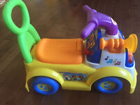 Fisher-Price Little People Music Parade Ride-on CAR