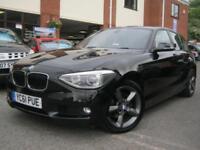 2011 61-Reg BMW 120d SE,NEW MODEL,ALL BLACK GREAT SPEC,FSH,MUST SEE1!