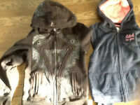 Girls Hoodies, jeans and shorts excellent condition
