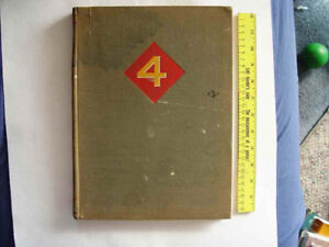 Book – The Fourth Marine Division in World War II