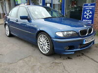 2003 BMW 330 D 3.0 Sport Turbo Diesel Topaz Blue History Mot April