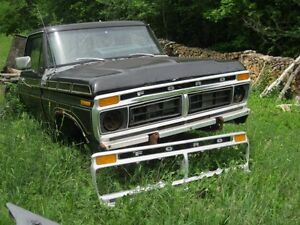1977 Ford Parts Truck.