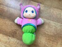 **As New Playskool Gloworm Toy**