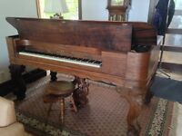 Piano-Table Antique-debut 1900