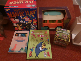 Brand new toys bundle great gifts for kids magic set campervan book ..
