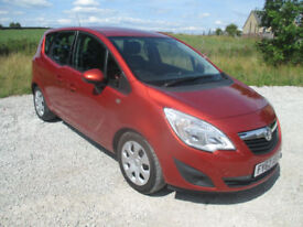 Vauxhall Meriva 1.7CDTi 16v ( 110ps ) ( a/c ) auto 2012.5MY Exclusiv
