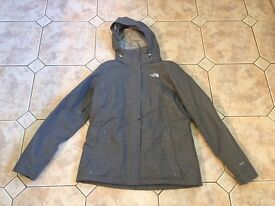 The North Face Inlux Jacket. Size Large. Approx Size 12. Grey. In Excellent Condition