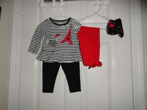 Baby Girls' Outfits - Size 6-12 months & 12 months