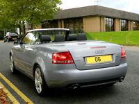2006 06 Audi A4 Cabriolet 3.0 TDI S Line Tiptronic Quattro 2dr WITH TOP SPEC