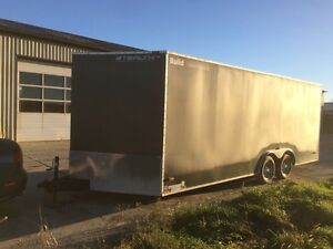 8.5'x24' enclosed trailer for rent