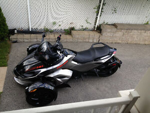Can am spyder rss 2012