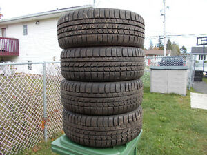 p225/50/17 inch winter tires / rims / LIKE NEW / GOOD DEAL