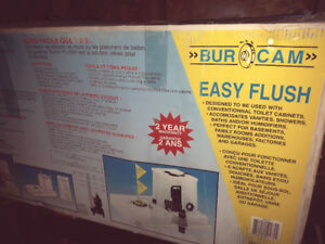 Burcam Pumps 1/2 HP Easy Flush Sewage Pump System IN BOX