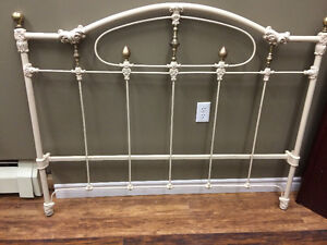 DOUBLE IRON BED FRAMES - REFINISHED!!