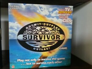 NEVER USED SURVIVOR BOARD GAME
