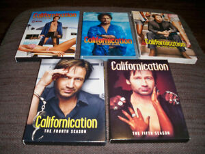Californication Seasons 1-5 on DVD