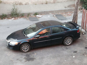 2004 Chrysler Sebring cuir Berline