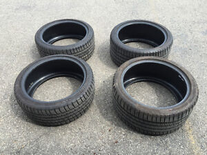 Used Michelin 255/35ZR18 & 225/40ZR18 tires