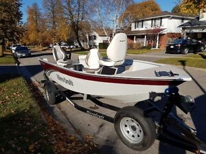2014 Mirrorcraft 1615 Outfitter / 25 HP Yamaha London Ontario image 12