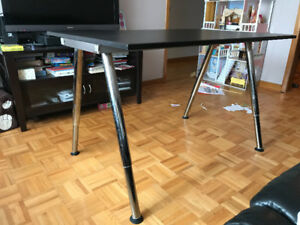 Adjustable Black Desk