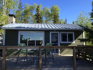 Lake Front Cabin For Sale, 54735 Jardine Road, Cluculz Lake