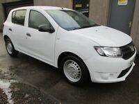 Dacia Sandero Access 1.2 16v 75- MOT'D, SERVICED, WARRANTIED & AA (white) 2014